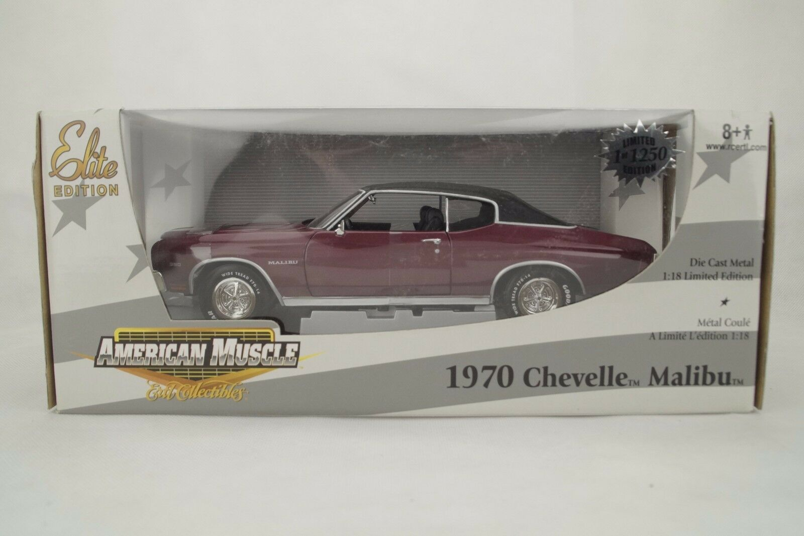 18 ertl elite - 1970 chevelle malibu - limited - edition - ovp