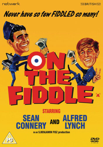 On the Fiddle DVD (2013) Alfred Lynch ***NEW***