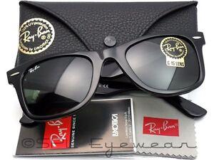 rb2140 901 50 22 3n  Ray Ban Original Wayfarer RB2140 901 50-22 Black Green Classic G ...