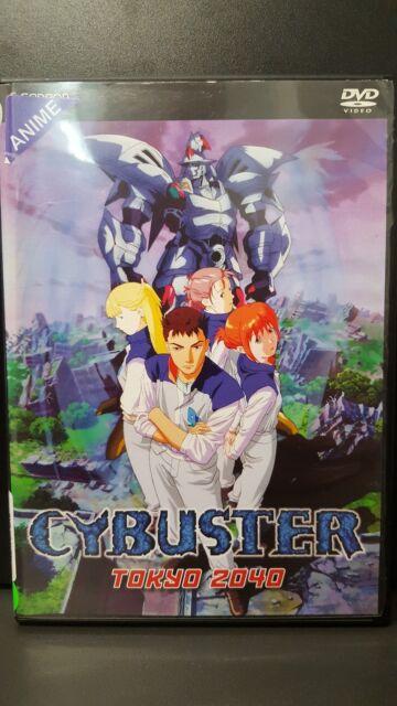 "Cybuster - Vol. 1: ""Tokyo 2040"" - Anime DVD"