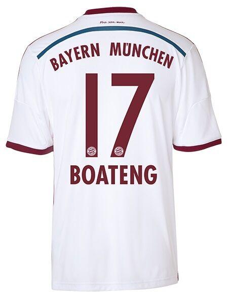 Trikot Adidas FC Bayern 2014-2015 Away - - - Boateng 17  FCB f5b8d4