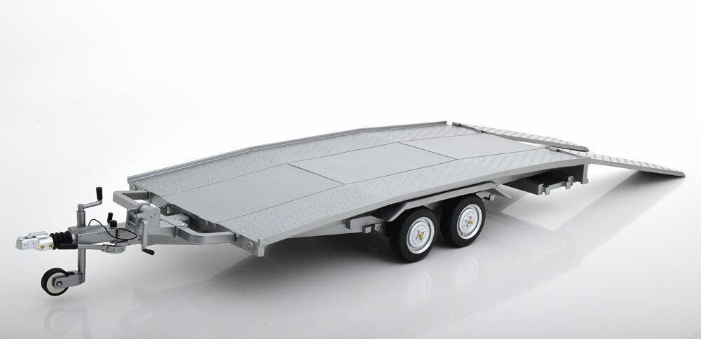1 12 Laudoracingmodellolos ELLEBI trailer argento