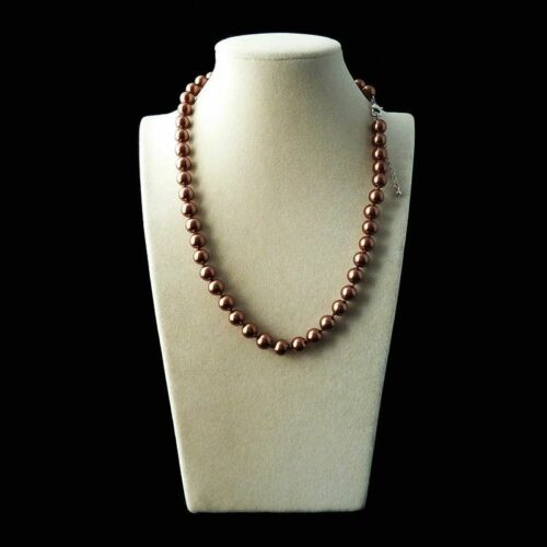 """Fashion 8mm Natural Multicolor Akoya Cultured Shell Pearl Necklace 18/"""" AAA"""