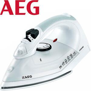AEG-Dampf-Buegeleisen-2200-Watt-Keramik-Buegelsohle-Dampfgenerator-Dampfstation