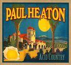 Acid Country [Digipak] by Paul Heaton (CD, Sep-2010, Proper Records)