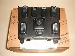 Genuine mercedes benz ml window mirror control switch new for 1999 mercedes ml320 window switch