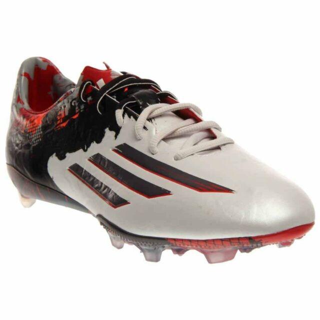 28e731dbea6 Men adidas Messi 10.1 FG Soccer Cleats Sz 11 White Granite B23767 ...