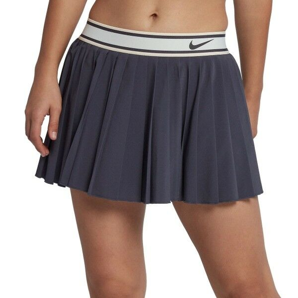 NIKE COURT Victory Pleated Tennis Skirt   Skort   Large.   933218-009