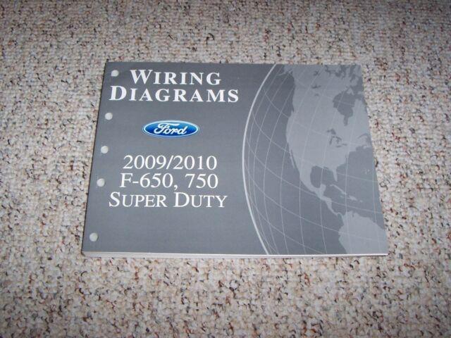 2009 Ford F650 Electrical Wiring Diagram Manual 6 7l 6 8l