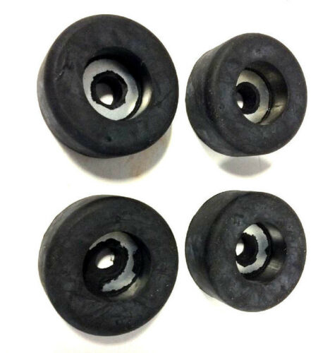 "4 X Recessed Bumper Steel Washer Insert 1-1//2/"" OD 5//8/"" Height 5//16/"" Bore Dia ∅"