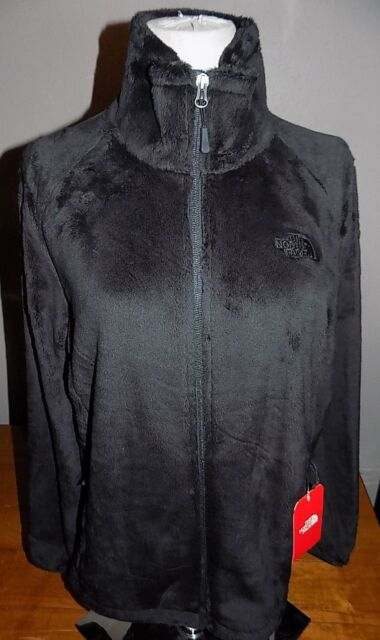 NWT The North Face Osito 2 Women s Fleece Jacket TNF BLACK NEW MODEL LARGE   99 b46a0793f