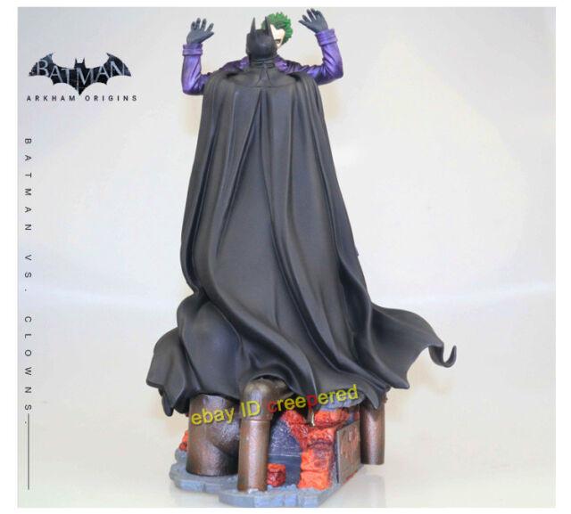 DC Comics Batman gegen Joker Arkham Origins Action Figur PVC Statue 30CM Neu