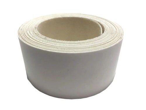 Blanc Fer à bordure 50 mm x 2.5 m mètre rouleau de pré-collé carcasse Strip 277