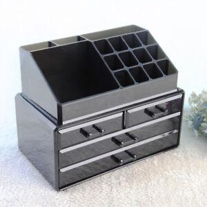 Cosmetic Organiser Acrylic Drawer Makeup Box Jewelry Storage
