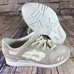 2d906b5e59e2 Asics Tiger Gel Lyte III Women s Shoes Cream Cream H865L-0000