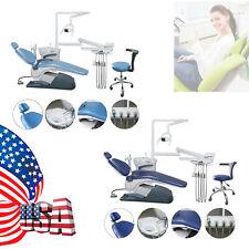 New Dental Unit Chair Tj2688 A1 Hard Leather Computer Controlled 4 Hole Fda Sa