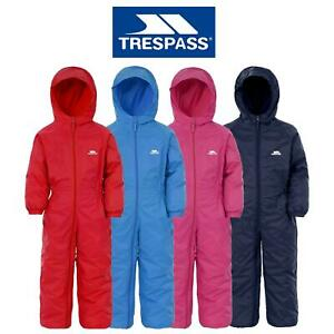 Trespass Driprop All In One Padded Waterproof Puddle Rainsuit Kids Drip Drop