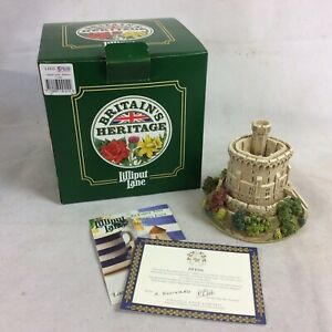 Lilliput-Lane-Round-Tower-Windsor-Castle-L2212-Boxed-With-Deeds