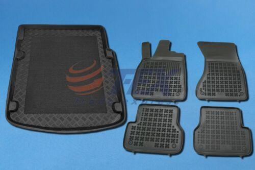 AUDI A7 Sportback 2010-heute Kofferraumwanne /& Gummi-Fußmatten