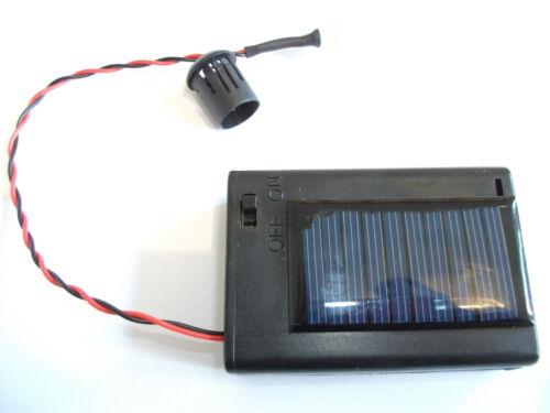 elija Su Intervalo De Flash Energía Solar LED intermitente