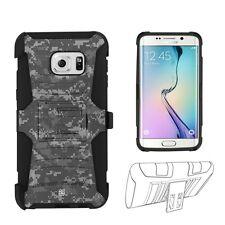 Beyond Cell Shell Case Armor Kombo For Samsung Galaxy S6 Edge Plus Digit Digi...