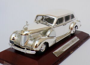Atlas-Editions-Plata-Cars-1-43-escala-SVC01-Cadillac-Fleetwood-V8-Limo
