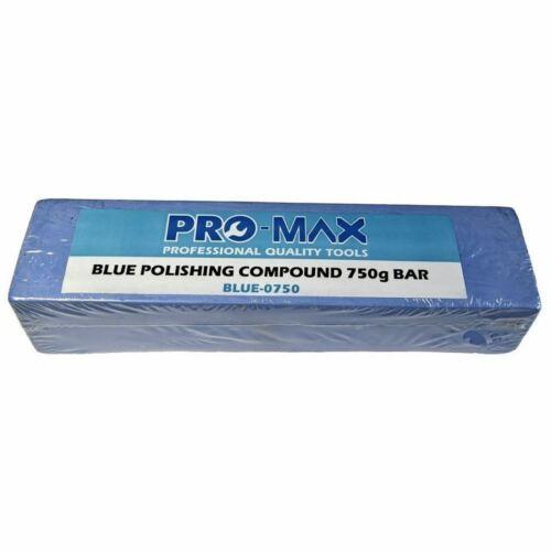 Pro-Max 750 g bar bleu en alliage d/'aluminium laiton métal polissage composé polissage