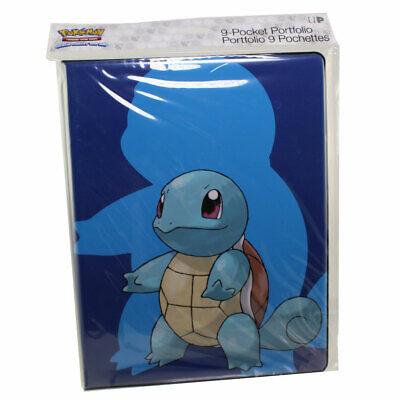 Ultra Pro Pokemon Tcg 9 Pocket Portfolio Album Squirtle Holds 180 Cards 74427153915 Ebay
