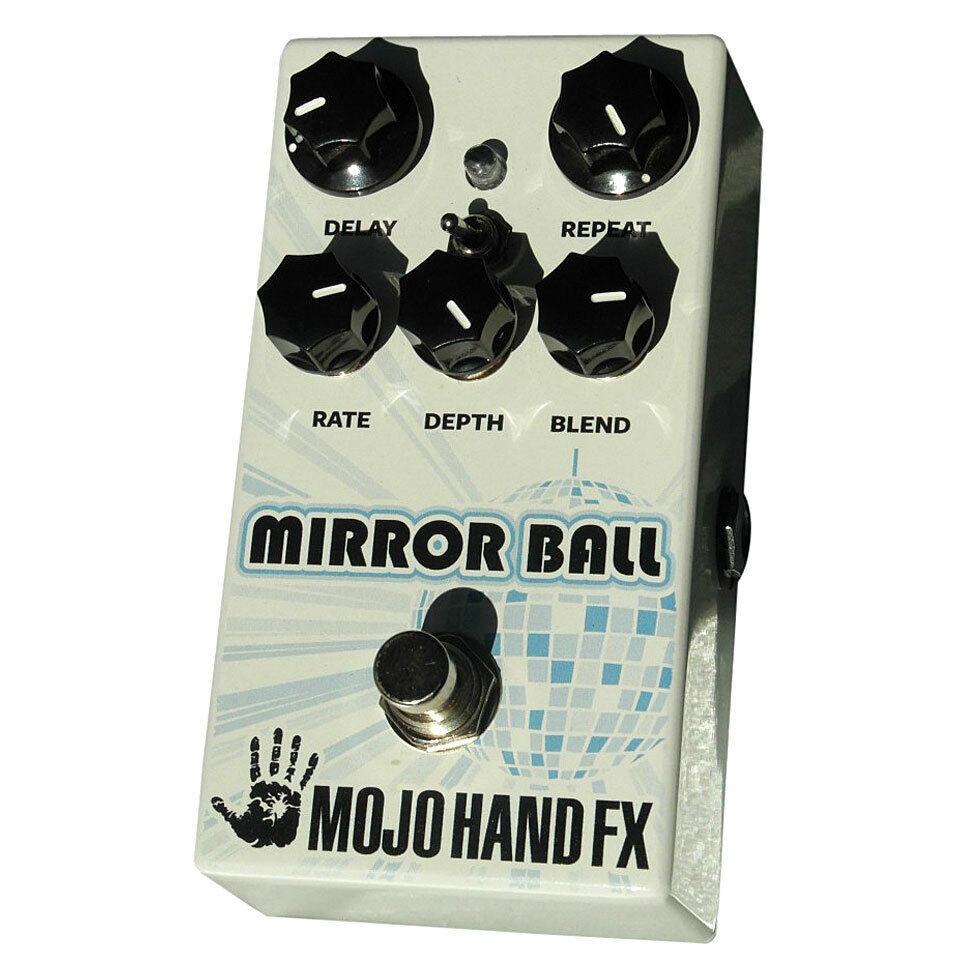 Effektgerät E-Gitarre Mojo Hand FX MIrror Ball Delay Effektgerät Effekt E-Gitarr