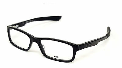 Authentic OAKLEY BUCKET OX1060-0253 Polished Black 53mm RX Eyeglasses