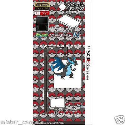 Pokemon GO 3DS XL MEGA CHARIZARD X Touch Pen Figure Mascot Stylus Nintendo BW XY