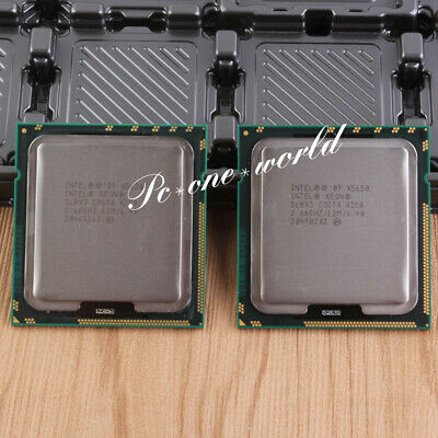 PAIR OF 2Intel Xeon X5650 2.66 GHz Six Core Processor LGA1366 SLBV3 CPU
