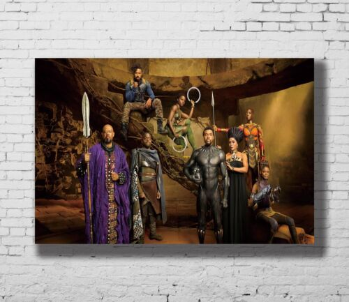 P-92 Art Hot New Black Panther Movie LW-Canvas Poster 21 24x36in