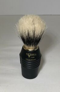 Vintage-Victoria-Super-Daxer-Black-Shaving-Brush-Made-In-Germany