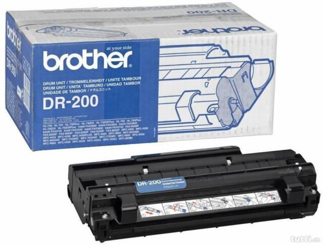 Originale Brother Tamburo DR-200 Fax 8000P HL-720 MFC-4300 mfc-9050 D-Ware