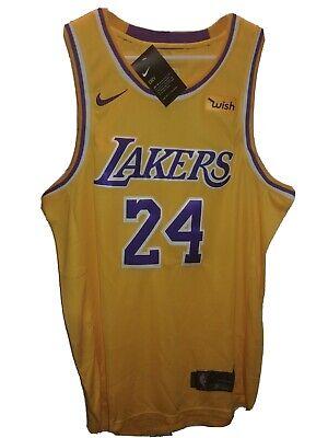 ????Kobe Bryant #24 Nike Swingman Wish Edition Stitched Jersey NBA Size 50 Yellow | eBay