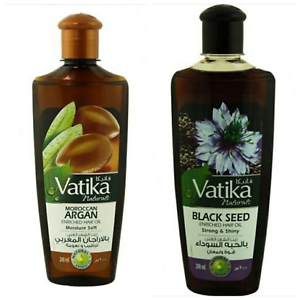 Vatika Naturals Oil 200ml Natural Extracts Strong Shiny And Moisture Soft Ebay