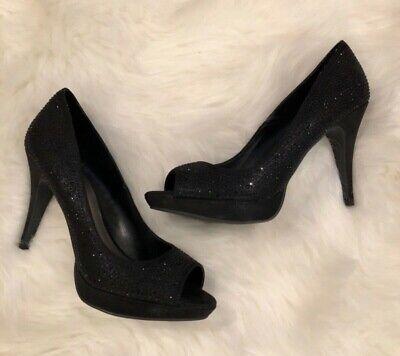 fergalicious black pumps