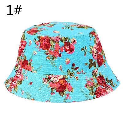 100% Cotton Adults Bucket Hat - Summer Fishing Boonie Beach Festival Sun Cap ZY