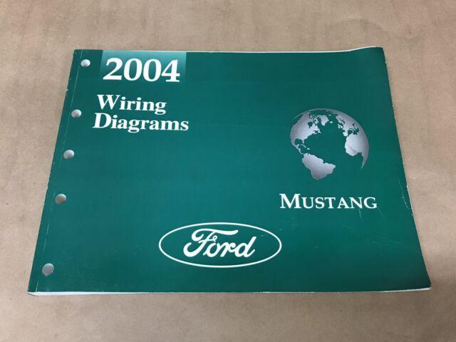 2004 Oem Ford Mustang Wiring Diagrams Shop Manual
