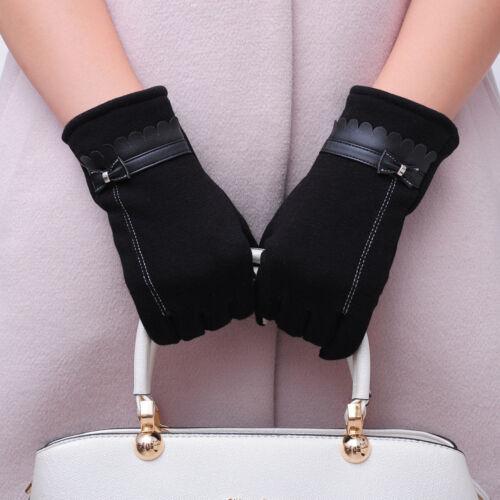 Winterhandschuhe Damen Handschuhe Winter Warm Handschuhe Handgelenk