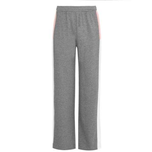 Details about  /LA Gear Open Hem Jogging Pants Ladies Fleece Bottoms Trousers Lightweight Colour