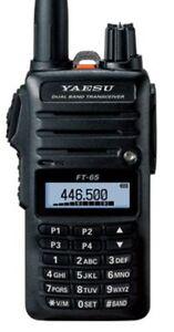 Yaesu FT-65 Émetteur / Récepteur Portable Vhf / Uhf 100086