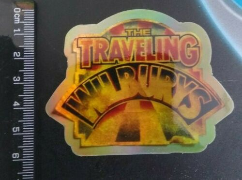 Roy Orbison Tom petty THE TRAVELING WILBURYS HOLOGRAPHIC sticker brand new