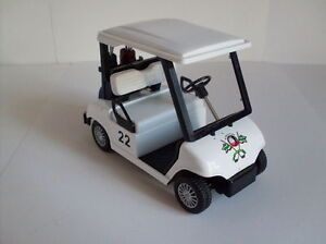 Golf-Car-Kintoy-Model-Approx-4-1-2in-New-Boxed