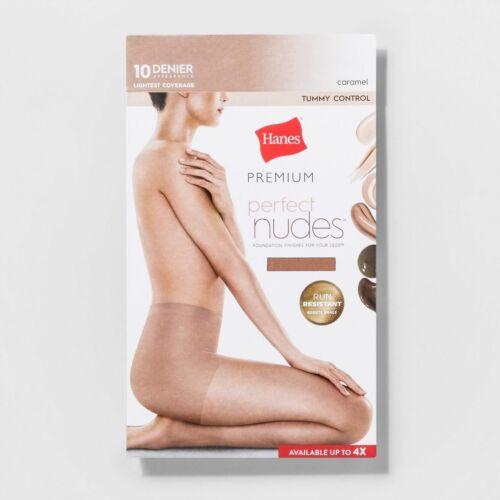 Hanes Premium Women/'s Silk Sheer Coverage Pantyhose Stockings Medium New