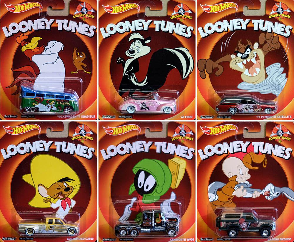 n ° 1 en línea Looney Tunes set 2014 (6 modelo coches) Pop Culture en en en 1 64 Hot Wheels x8308  al precio mas bajo