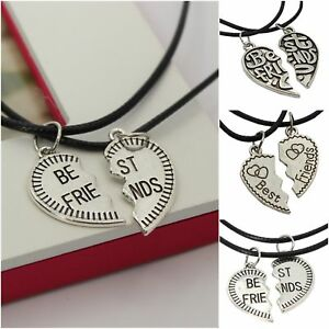 2-x-collar-BFF-Best-Friends-amistad-corazon-set