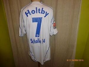 Fc-shalke-04-adidas-saliente-camiseta-2009-10-034-gazprom-034-n-7-Holtby-talla-XL-Top