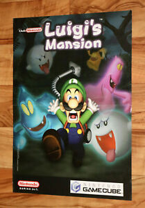 Details About 2001 Luigi S Mansion Golden Sun Nintendo Small Poster 30x42cm Game Boy Advance
